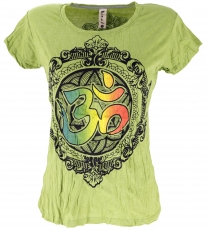 Baba T-Shirt - lemon green/Om