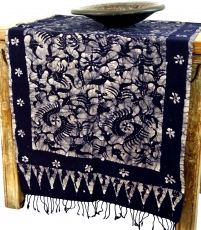 Batik table runner, wall hanging from Indonesia