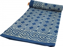 Block print bedspread, bedspread sofa throw, handmade hanging boa..
