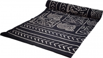 Block print bedspread, bedspread sofa throw, handmade wall hangin..