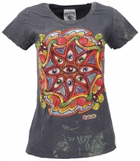 Mirror T-Shirt - Third eye/anthracite