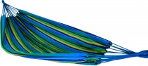 Outdoor hammock,200x150 cm, 1-2 persons - blue yellow green