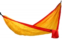 Travel hammocks made of parachute fabric - orange