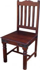 Colonial style chair R444 dark - Model 4