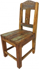 Recycled teak chair - Model 12
