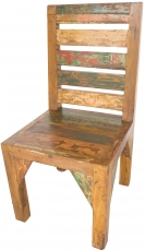 Recycled teak chair - Model 7