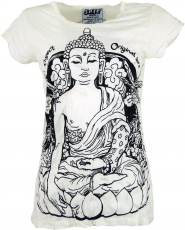 Sure T-Shirt Meditation Buddha - white