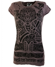 Sure T-Shirt Tribal Ganesha - taupe