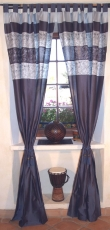 Curtain, curtain (1 pair of curtains) - blue
