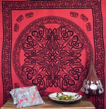 Wall hanging, tapestry, mandala, bedspread Celtic - Design 14