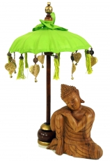 Ceremonial umbrella, asian decorative umbrella small - lemon